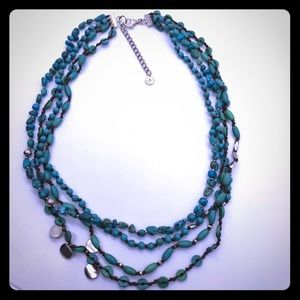 Silpada Tickle Me Turquoise Necklace